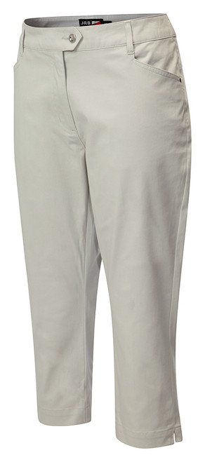 JRB Ladies Stretch COTTON CHINO CAPRI CROPPED Golf Trousers