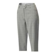 JRB Ladies CAPRI CROPPED Golf Trousers Black/White Check + FREE Socks