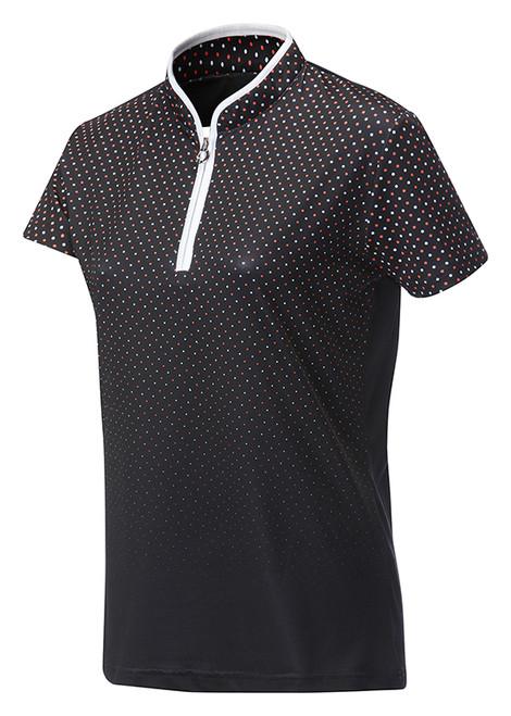 JRB Ladies Spot Short Sleeved Golf Shirt