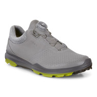 Ecco Mens Biom Hybrid 3 Goretex Boa Golf Shoes Dove Kiwi