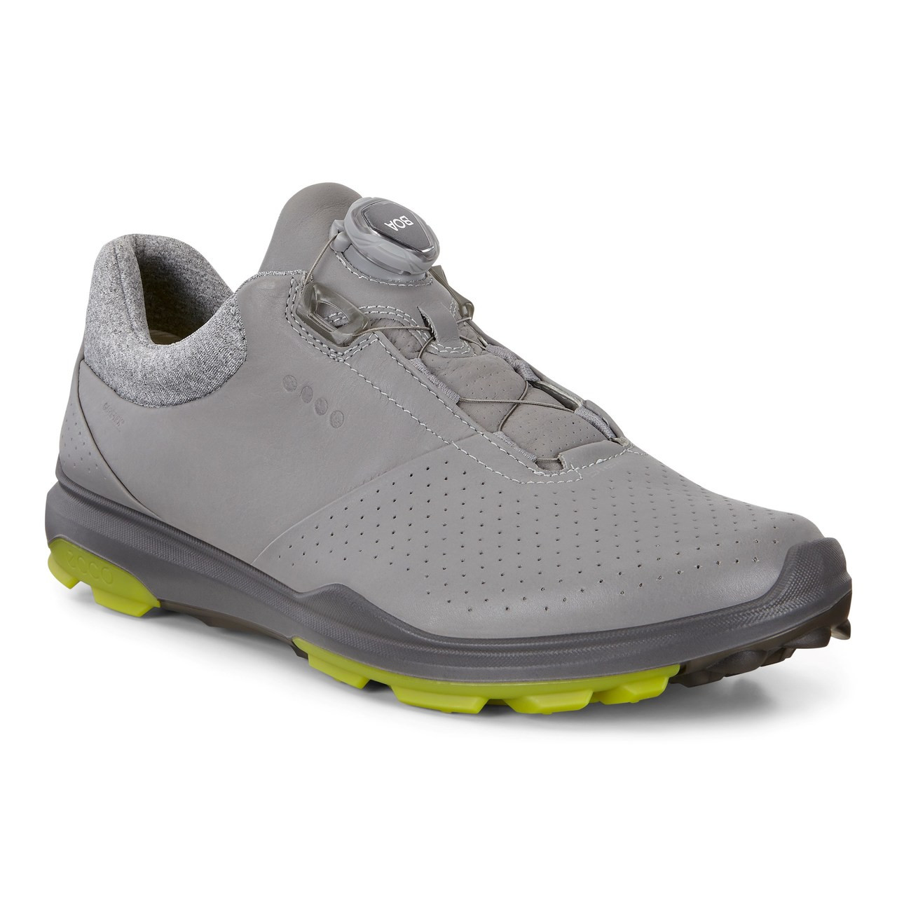 1780a9333980 Ecco Mens Biom Hybrid 3 Goretex Boa Golf Shoes Dove Kiwi Size 44 (UK ...