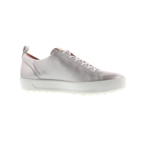 Ecco Women's Golf Soft Shoes Alu Silver