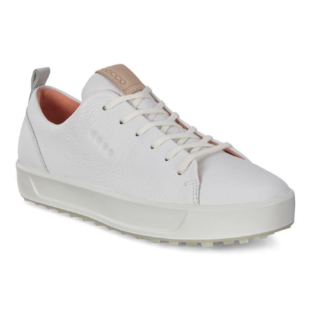 0bec45e1d34df Ecco Women's Golf Soft Shoes White Lyra - Extra width Option Size 38 ...