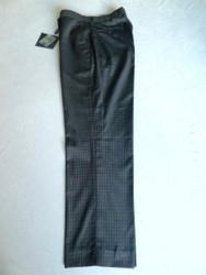 JRB Mens Classic Golf Trousers Navy Blue Check