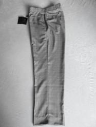 JRB Mens Classic Golf Trousers Black White Check