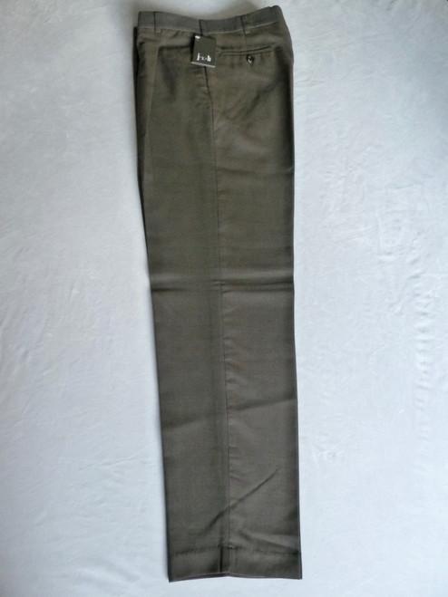 JRB Mens Classic Golf Trousers Navy Brown Check
