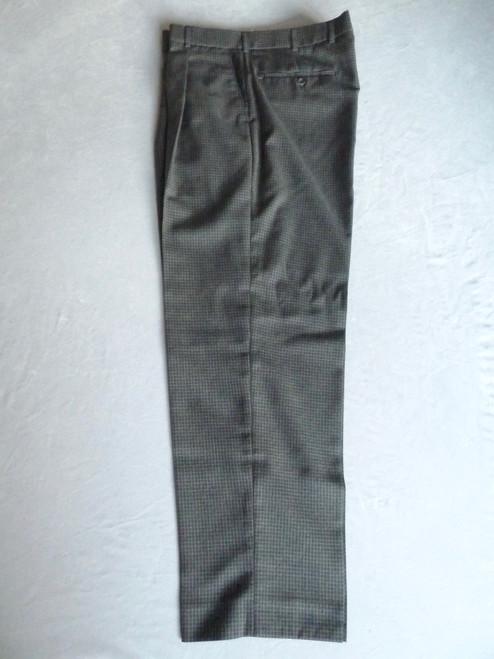 JRB Mens Classic Golf Trousers Charcoal Check