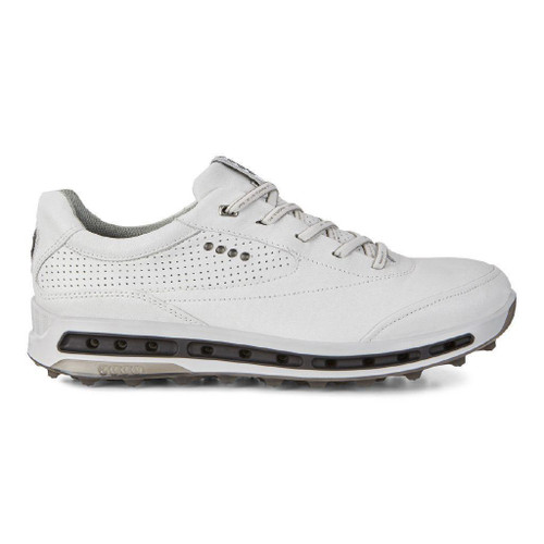 9dc8ed06e7 Ecco Mens Cool Pro Golf Shoes White Black Extra Width Option Size 42 (UK  8-8.5)
