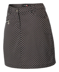 JRB Ladies Golf Skorts Black Amber Print