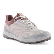 Ecco Women's Biom Hybrid 3 Goretex Golf Shoes White Black Transparent