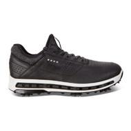 Ecco Mens Golf Cool Goretex Shoes Black Dritton Extra Width Option