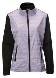 JRB Ladies Windproof Golf Jacket Lavender Black