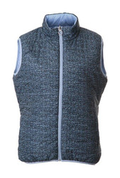 JRB Ladies Golf Gilet Bodywarmer Reversible Blue