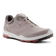 Ecco Women's Biom 3 Boa Goretex Golf Shoes Grey Rosepetal