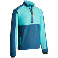 Callaway Mens 1/4 Zip Long Sleeve Windjacket Deep Dive