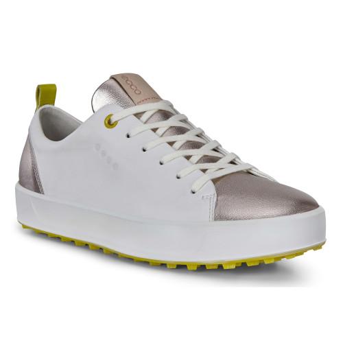 Ecco Women's Golf Soft Shoes White Dritton