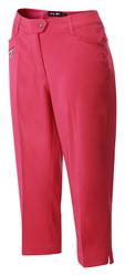 RB Ladies Capri Cropped Golf Trousers Fuchsia