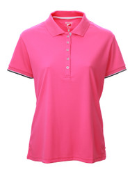 JRB Ladies Plain Short Sleeved Golf Shirt