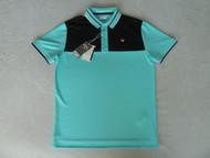 Callaway Mens X-Series Block Shirt Golf Polo Bluefish