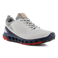 Ecco Mens Biom Cool Pro Goretex Golf Shoes White Scarlet