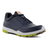 Ecco Mens Biom Hybrid 3 Goretex Golf Shoes Ombre Kiwi
