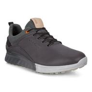 Ecco Mens S-Three Goretex Golf Shoes Magnet Dritton