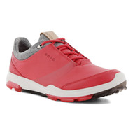 Ecco Women's Biom Hybrid 3 Goretex Golf Shoes Teaberry