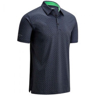 Callaway Golf Mens All Over Chev Print Golf Polo Caviar