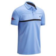 Callaway Golf Mens Odyssey Tour Player Polo Shirt Cornflower Blue
