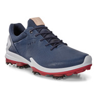 Ecco Mens Biom G3 Goretex Golf Shoes True Navy