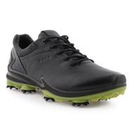 Ecco Mens Biom G3 Goretex Golf Shoes Black
