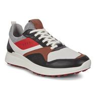 Ecco Mens S-Casual Golf Shoes Black Tomato