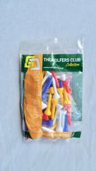 Golfers Club Short Plastic Tees