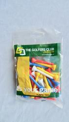 Golfers Club Long Plastic Tees