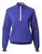 JRB Ladies Golf Sweater 1/4 Zipped Dusted Peri