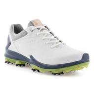 Ecco Mens Biom G3 Goretex Golf Shoes White Dark Shadow