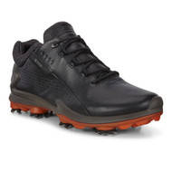 Ecco Mens Biom G3 Goretex Golf Shoes Black Dritton