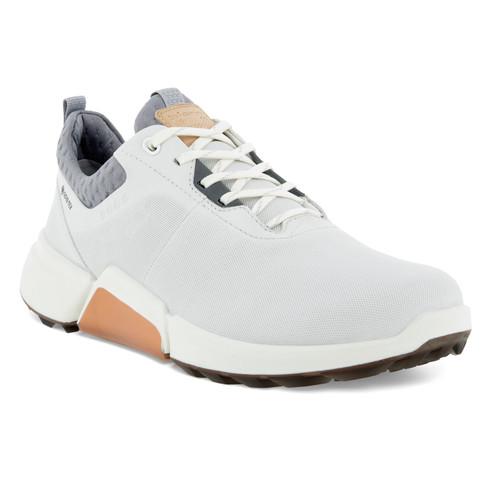 Ecco Women's Biom H4 Golf Shoes White Silver