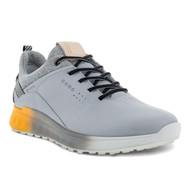 Ecco Mens S-Three Goretex Golf Shoes Silver Grey