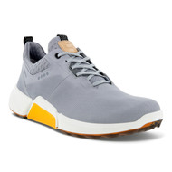 Ecco Mens Biom H4 Golf Shoes Silver Grey