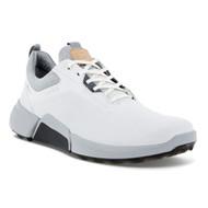 Ecco Mens Biom H4 Golf Shoes White Concrete