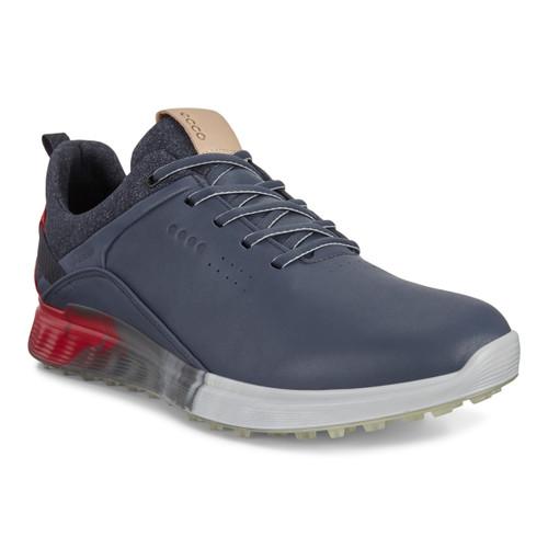 Ecco Mens S-Three Goretex Golf Shoes Ombre
