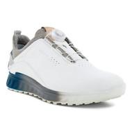 Ecco Mens S-Three Boa Goretex Golf Shoes White Seaport