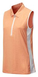 JRB Ladies Melange Short Sleeved Golf Shirt