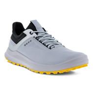 Ecco Mens Golf Core Shoes Silver Grey