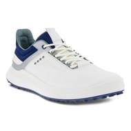 Ecco Mens Golf Core Shoes White Silver
