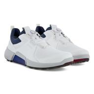 Ecco Mens Biom H4 Boa Golf Shoes White Dritton