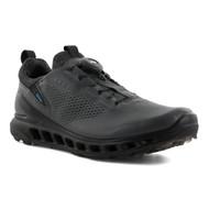 Ecco Mens Biom Cool Pro Goretex Boa Golf Shoes Dark Shadow
