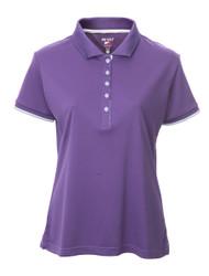 JRB Ladies Plain Short Sleeved Golf Shirt