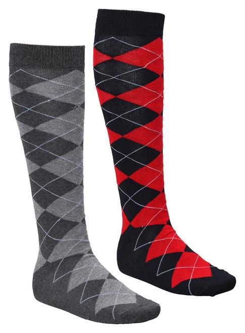 JRB Plus Two Argyle Long Golf Socks